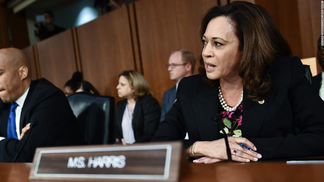Kamala Harris Asks Kavanaugh If He Thinks There Is Blame