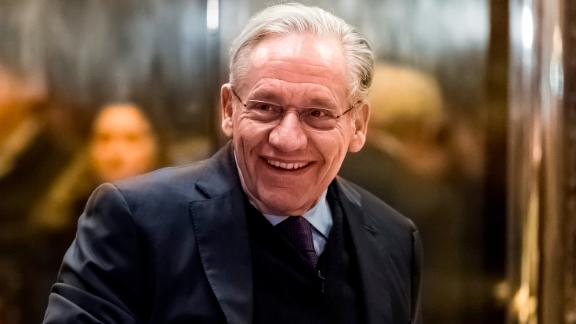 Journalist Bob Woodward is seen in the lobby of Trump Tower in New York (USA) on January 3, 2017. - NO WIRE SERVICE - Photo by: Albin Lohr-Jones/picture-alliance/dpa/AP Images