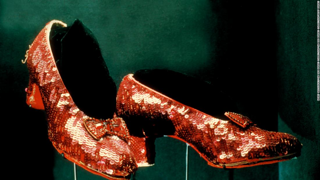 Stolen 'Wizard of Oz' ruby slippers found 13 years later. But the search continues for those responsible, FBI says