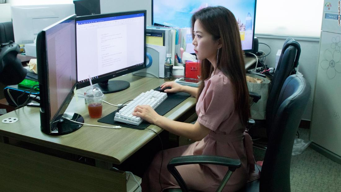 """Lee Ji-soo works as a """"digital undertaker,"""" helping victims remove illegal photos and videos from the internet."""