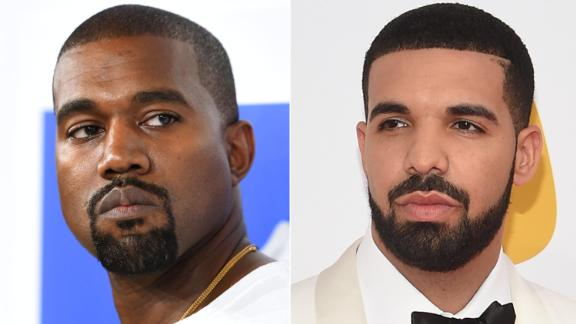 """Kanye West took to Twitter in September 2018 to apologize to fellow rapper Drake after West got caught up in <a href=""""https://www.cnn.com/2018/05/31/entertainment/drake-pusha-t-blackface/index.html"""" target=""""_blank"""">a beef Drake was having with Pusha- T. </a> He seemed to renew the <a href=""""http://www.cnn.com/2018/12/14/entertainment/kanye-west-drake/index.html"""" target=""""_blank"""">feud in a barrage of tweets</a> in December."""