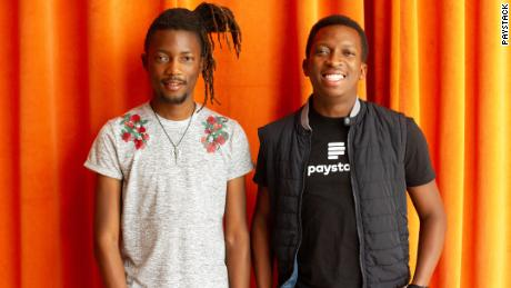Paystack founders- Ezra Olubi and Shola Akinlade