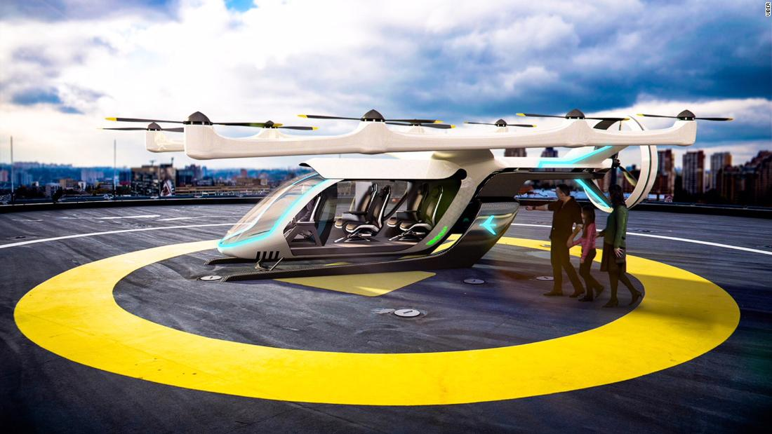 EmbraerX, a branch of Brazilian aircraft firm Embraer, unveiled its concept for an Uber Elevate air taxi in May 2018. The ride hailing company put out a call for designs, the first of which could be tested by 2020. <br />