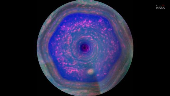 Massive structure on Saturn