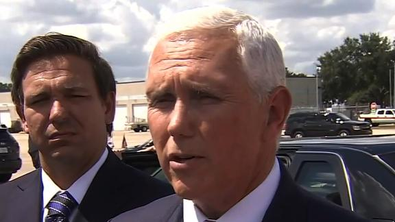 Vice President Mike Pence in Florida 09/06.