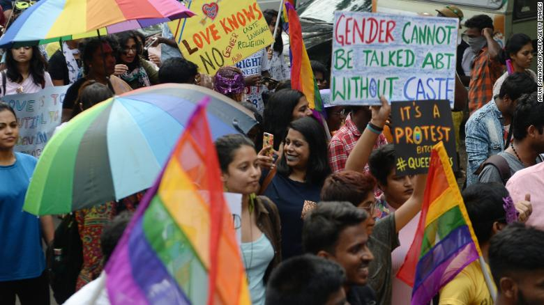 India criminalising homosexuality and christianity