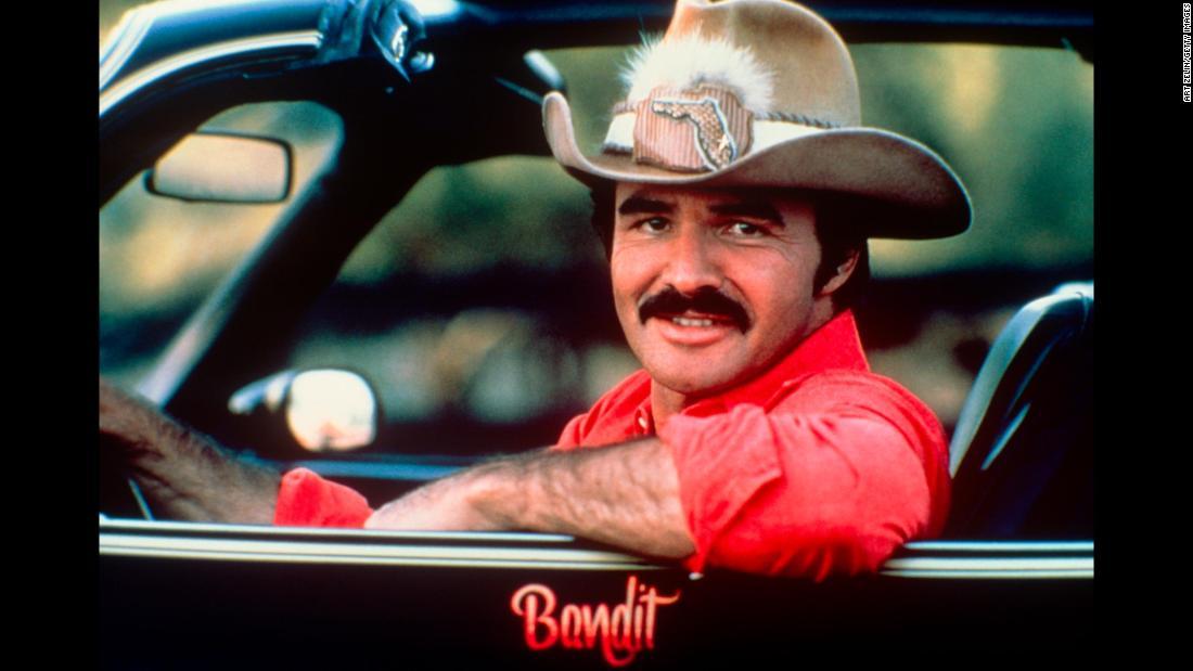 "Burt Reynolds, ""Smokey and the Bandit"" star, dead at 82"
