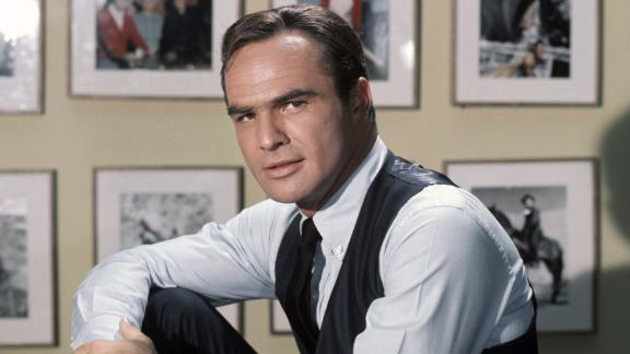 """Reynolds poses for a portrait on the set of the TV show """"Hawk"""" in 1966."""