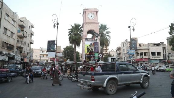 All seems calm on the streets of Idlib, though Syrian troops are preparing an attack on the city.
