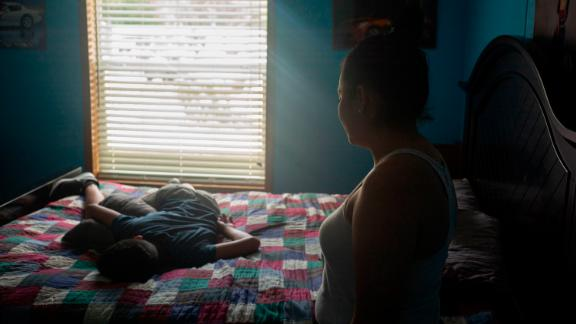 """Alejandro, 13, said he fell into a deep depression after he was removed from his mother and placed in detention for months. The experience caused """"irreparable damage,"""" his mother Dalia said."""