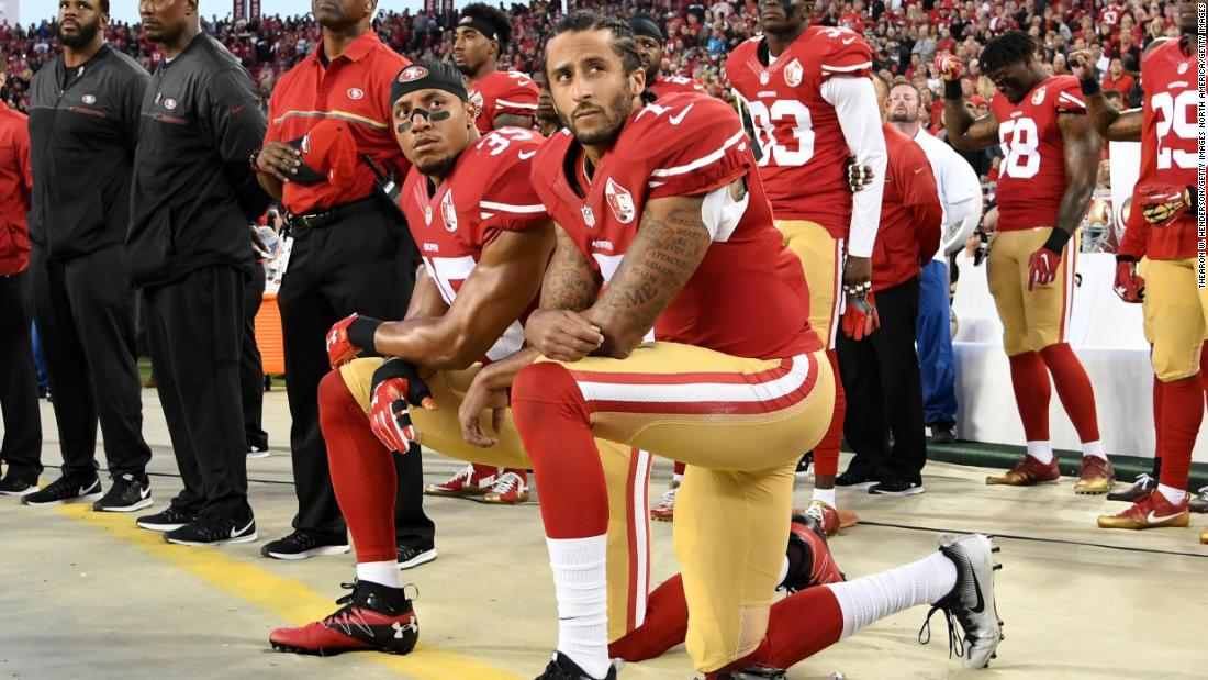 4c0669c4eb60 Colin Kaepernick and Eric Reid settle pending grievances with NFL - CNN