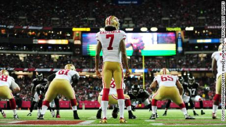 4cb584bfb10b Colin Kaepernick: Nike, the NFL, Trump and the cultural star fast ...