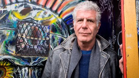Anthony Bourdain explores the Lower Eastside of New York City, New York on April 1, 2018. (photo by David Scott Holloway)