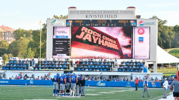 Memorial Stadium in Lawrence, Kansas