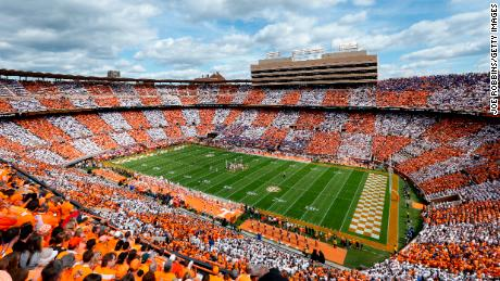 Neyland Stadium in Knoxville, Tennessee
