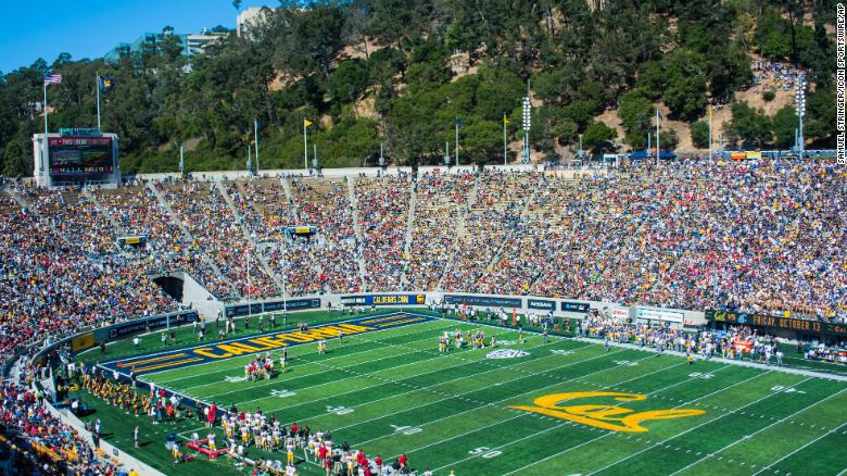 Memorial Stadium in Berkeley, California