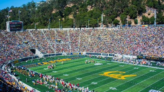 Memorial Stadium in Berkeley, California