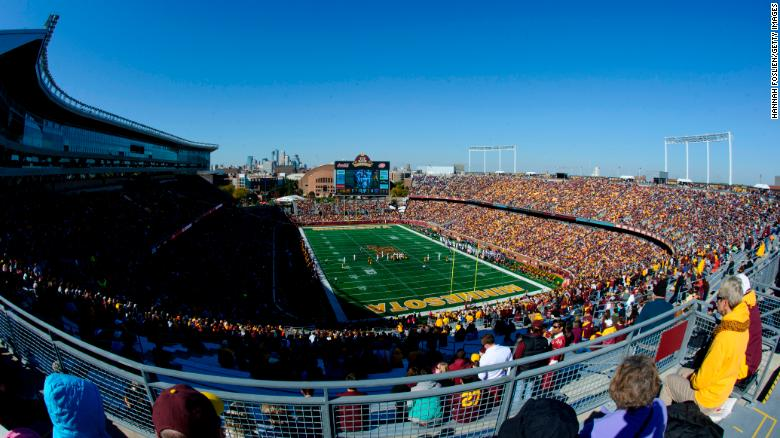 TCF Bank Stadium in Minneapolis, Minnesota