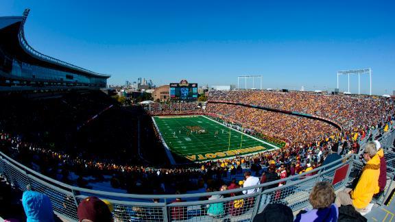 TCF Bank Stadium in Minneapolis, Minnesota