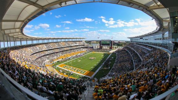 McLane Stadium in Waco, Texas
