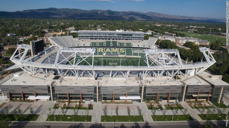 Canvas Stadium in Fort Collins, Colorado