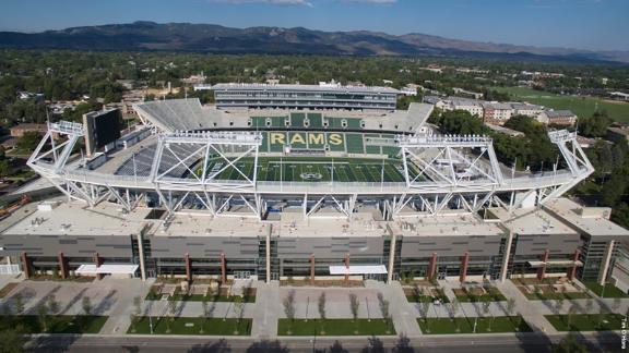 Canvas Stadium in Fort Collins, Colorado