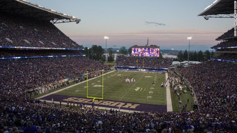 Alaska Airlines Field at Husky Stadium in Seattle, Washington
