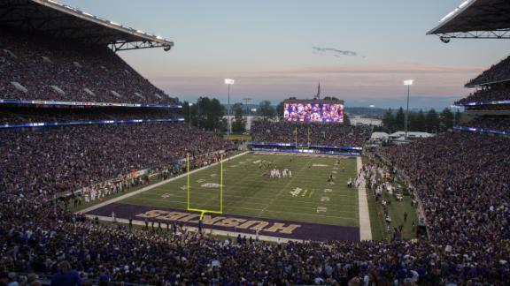 Alaska Airlines Field at Husky Stadium in Seattle, Washington