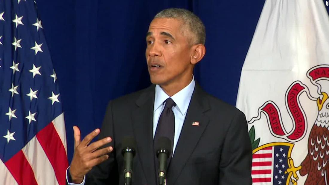 Barack Obama asked the question everyone's been wondering about the Republican Party