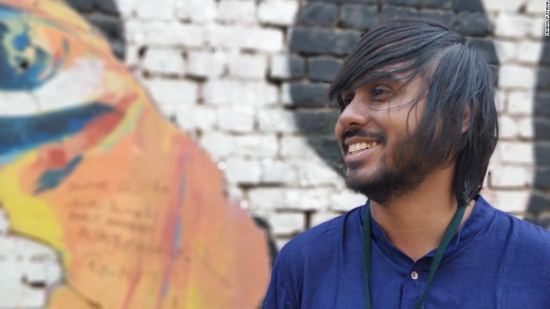 Indian LGBT activist Dhrubo Jyoti.