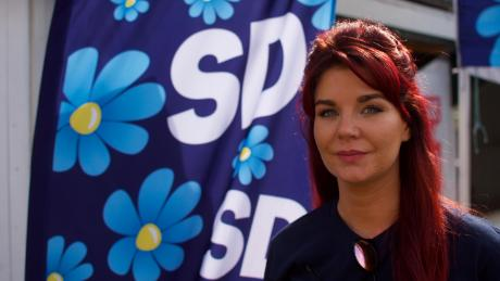 Louise Erixon, leader of the Sweden Democrats in Solvesborg and Akesson's fiance, says a feeling of insecurity has spread across the country.