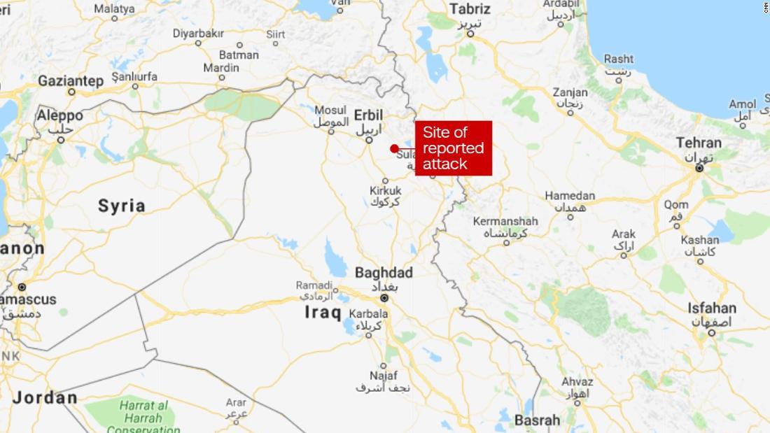 Deadly attack on Iranian Kurdish opposition base in Iraq