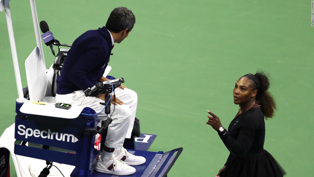 ผลการค้นหารูปภาพสำหรับ Chair umpire Carlos Ramos will not work US Open matches that have Serena or Venus Williams