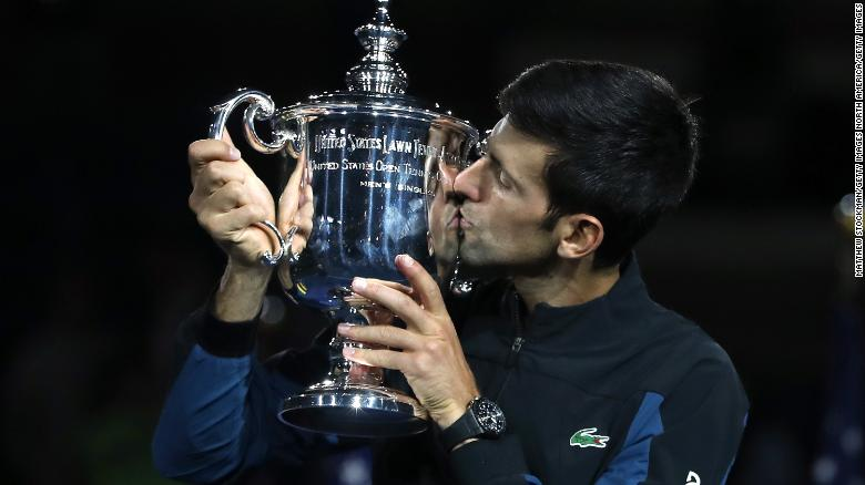 Novak Djokovic Beats Juan Martin Del Potro For Third Us Open Title Cnn