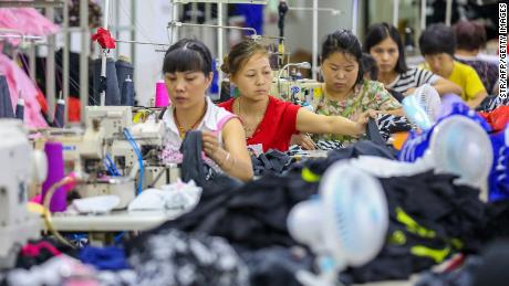 The United States imposed 10% tariffs on $ 200 billion of Chinese goods on September 24.