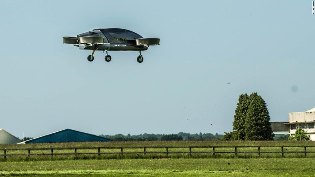 "UK startup <a href=""https://www.vertical-aerospace.com/"" target=""_blank"">Vertical Aerospace </a>completed a test flight for its full scale eVTOL in June 2018 after the 750 kg (1,653 lb) prototype received flight permission from the Civil Aviation Authority."