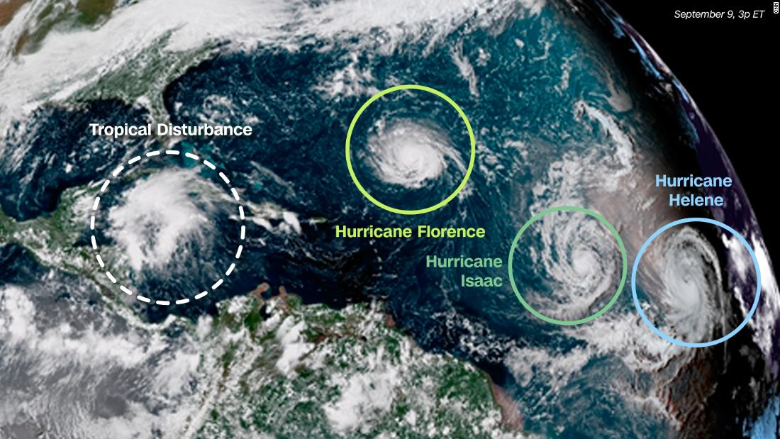 Isaac Helene And Olivia Other Storms That Aren T
