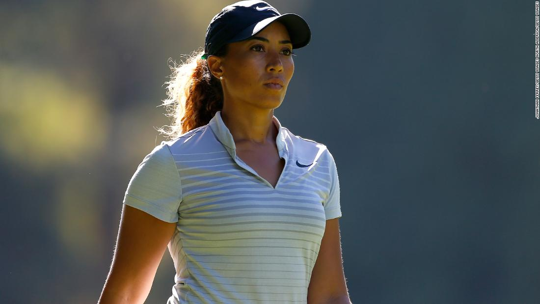 Cheyenne Woods on stepping out of Tiger's shadow