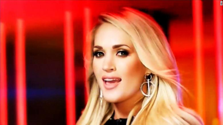 Mixed reviews for Carrie Underwood's NFL song