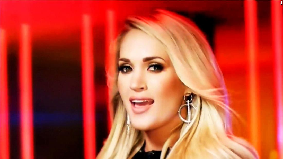 Carrie Underwood, NFL and NBC sued over 'Sunday Night Football' song