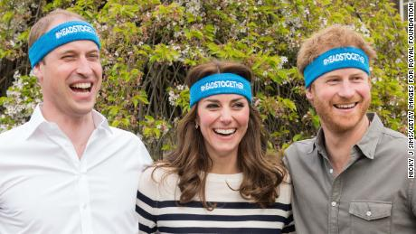 The Duke and Duchess of Cambridge and Prince Harry launched the Heads Together campaign in 2016.