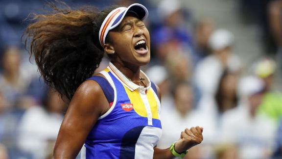 - Osaka built on her breakthrough 2016 by playing in all four grand slams in 2017. Performing consistently on the biggest stage enabled the youngster to test herself against the world elite. Perhaps her most notable victory came in the first round of the 2017 US Open. Osaka defeated defending champion Angelique Kerber in straight sets, before being knocked out in the third round.