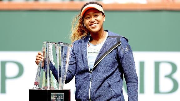 - After achieving her best grand slam finish at the 2018 Australian Open (fourth round), Osaka won her first WTA title at the 2018 BNP Paribas Open, Indian Wells. She cemented herself as a future star with wins against former world No.1