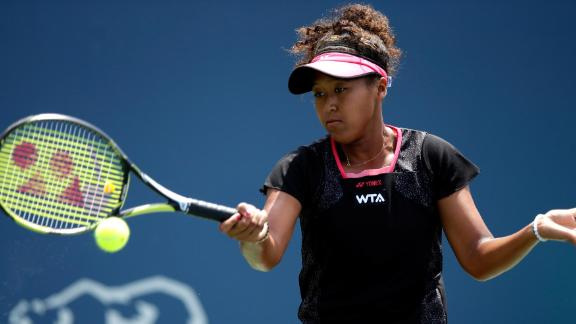 - After turning professional in September 2013, Osaka made her WTA main-draw debut at the 2014 Bank of the West Classic. The then 16-year-old showed her promise by defeating former grand slam champion Samantha Stosur in her opening match. The eventual winner of that tournament? Serena Williams.