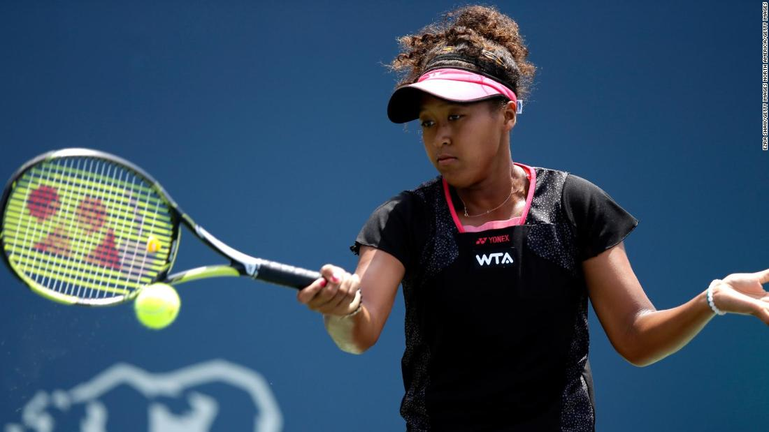 - After turning professional in September <strong>2013</strong>, Osaka made her WTA main-draw debut at the<strong> 2014 Bank of the West Classic</strong>. The then 16-year-old showed her promise by defeating former grand slam champion Samantha Stosur in her opening match. The eventual winner of that tournament? Serena Williams.