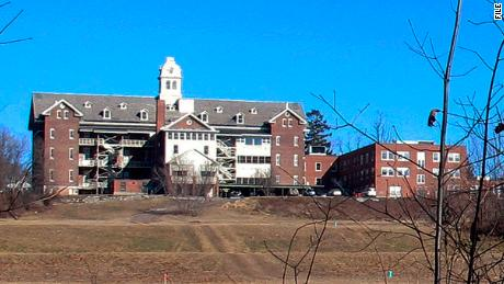 This file photo shows buildings and property of Burlington College in Burlington, Vermont. Before housing the college, the building was home to St. Joseph's Orphanage.