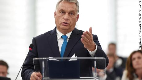 Hungary will not be blackmailed, Prime Minister Orban tells EU