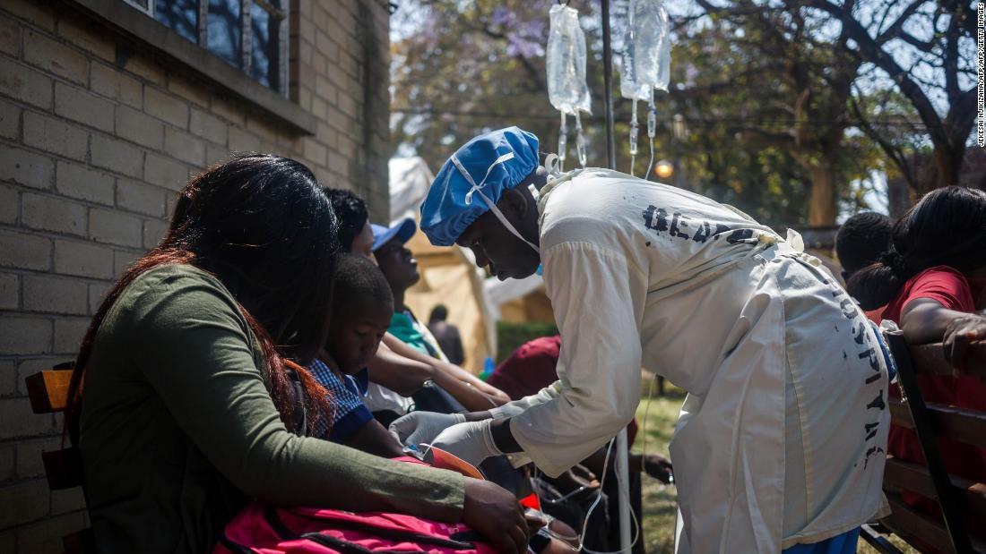 Zimbabwe declares cholera emergency