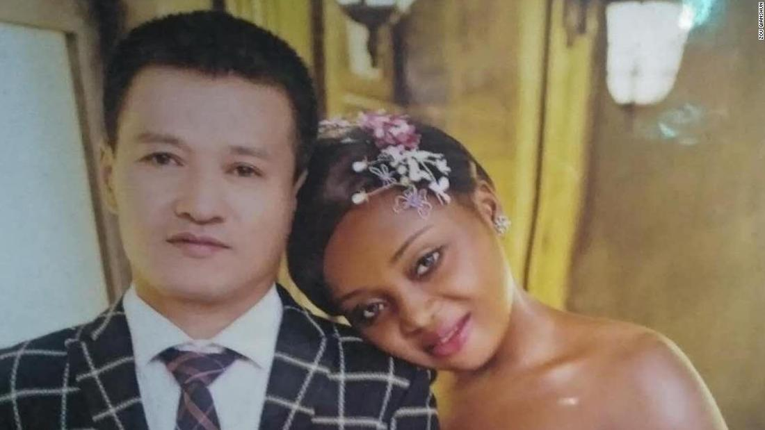 Cameroon bride and Chinese husband find fame online
