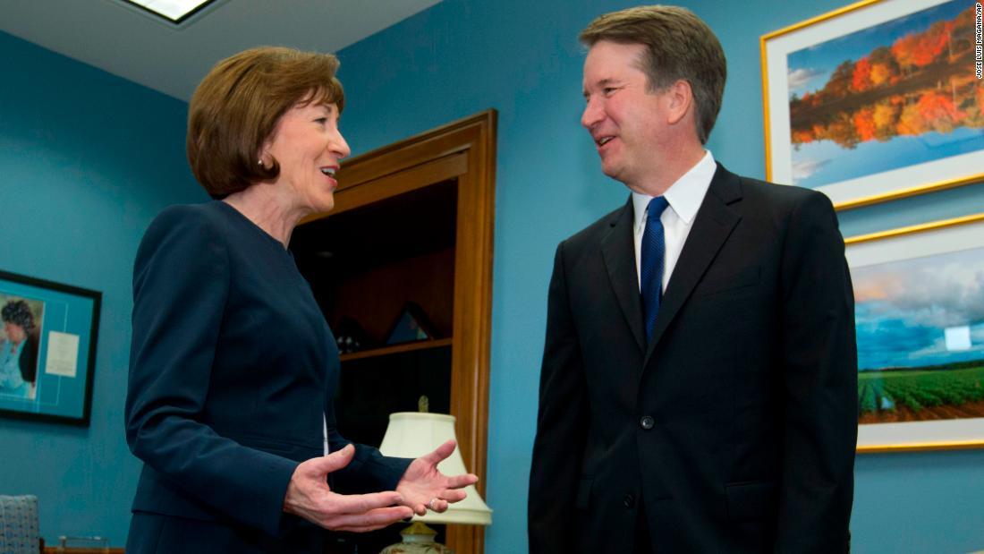 GOP senators slam activists protesting Collins ahead of Kavanaugh vote – Trending Stuff